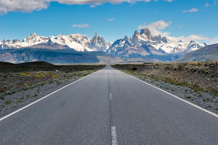 cerro chalten: Cerro Torre & Fitz Roy from Route 23, El Chalten, Argentina