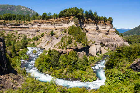 meander: Meander of Truful-Truful river, Chile