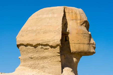 sphinx: La Gran Esfinge de Giza, El Cairo, Egipto