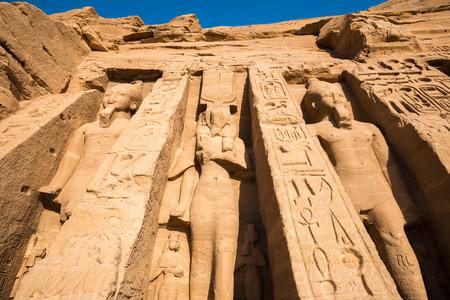 abu simbel: Temple of Nefertari, Abu Simbel, Egypt