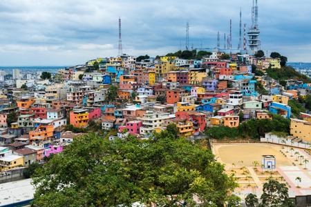 guayaquil: Las Penas neighborhood, Guayaquil, Ecuador Stock Photo