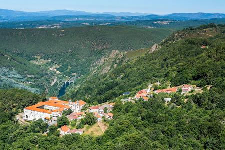リバス ・ デ ・ シル、オレンセ、ガリシアのサン ・ エステバン修道院