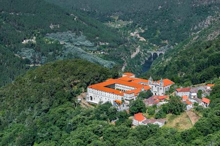 Monastery of San Esteban in Ribas de Sil, Orense, Galicia