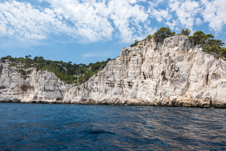 Cliffs of Calanques National Park, France Stock Photo