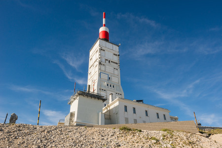 france station: Radio Antenna and weather station of Mount Ventoux, France