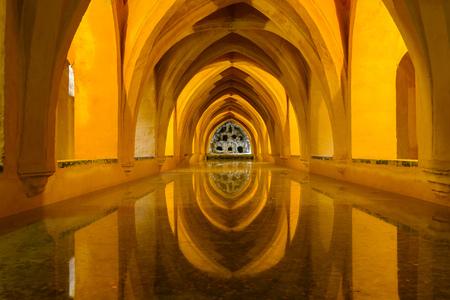 padilla: Baths of Lady Maria de Padilla, Alcazar of Seville, Spain