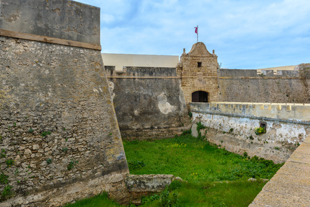 Castle of Santa Catalina at Cadiz, Spain Editorial