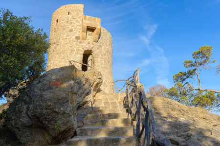 Verger Tower, northwest coast of Majorca, Spain