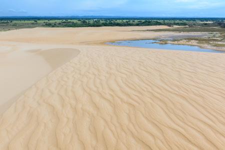 Sand dune of Lomas de Arena Regional Park, Santa Cruz, Bolivia