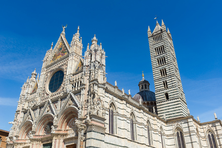 Siena Cathedral, dedicated to the Assumption of the Blessed Virgin Mary, Italy