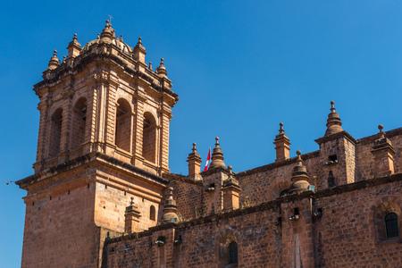 Cathedral of Cusco, Peru Stock Photo