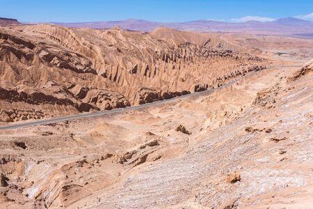 Salt Mountain Range-Cordillera de la Sal, San Pedro de Atacama, Chile