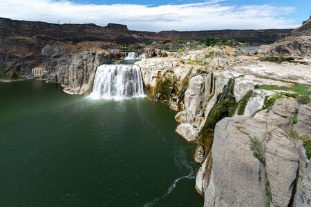 Shoshone Falls on Snake River, Twin Falls, Idaho, USA