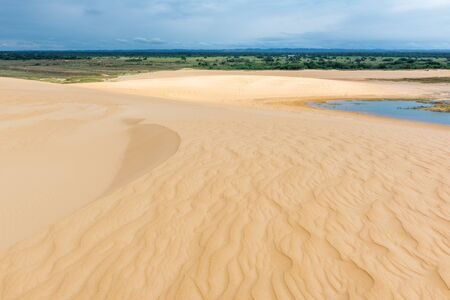 Sand dunes of Lomas from Regional Park Arena, Santa Cruz, Bolivia