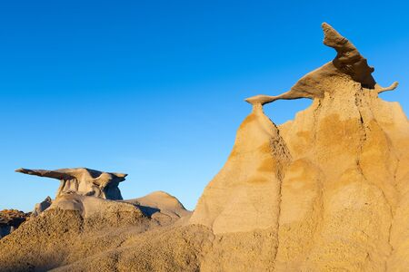 The Wings rock formation in Bisti Wilderness area, New Mexico, USA