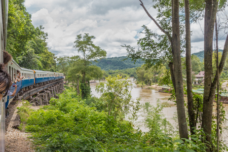 Views of Kwai River from Death Train