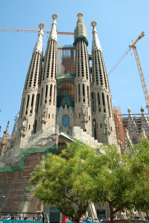 antoni: The Sagrada Familia is a symbol of Barcelona and the best-known work of the architect Antoni Gaudi. This temple has been under construction since 1882.