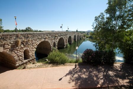 unesco culture heritage: M%uFFFDrida is the capital of the autonomous community of Extremadura, western central Spain. The Archaeological Ensemble of M%uFFFDrida .The Roman Bridge is one of the biggest ancient bridges.