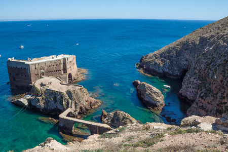 The Island of Berlenga is about 7 miles from the Port of Peniche, with a maximum length and width of 1500 and 800 meters respectively, a perimeter of 4000 meters, 88 meters of maximum altitude and -30 minimum. Area with high botanical interest with severa