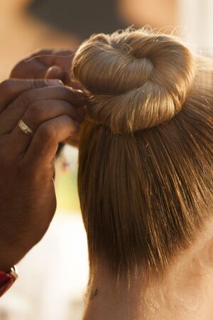 makeup and hair salon Reklamní fotografie