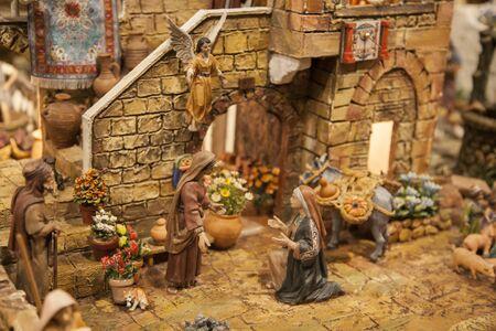 plaster figures representing the belen