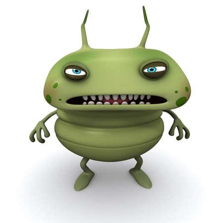 3d cartoon bug photo
