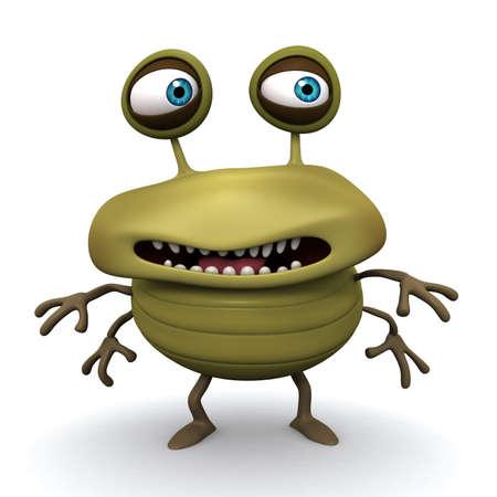 bug cartoon: 3d cartoon bug
