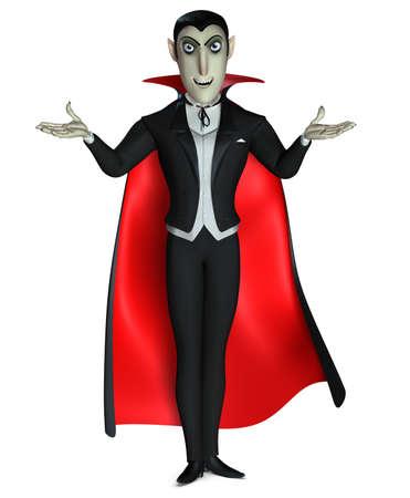 3d vampire: Count Dracula