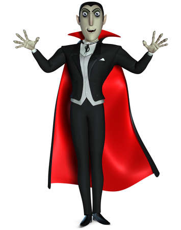 cartoon vampire: vampire Stock Photo