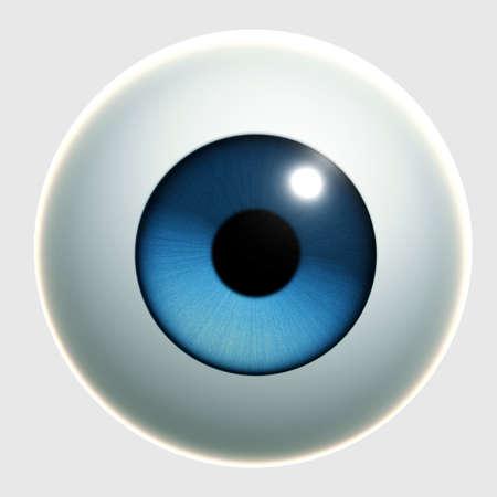 Cartone animato occhi 3d
