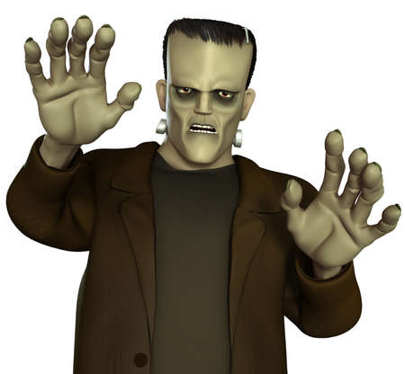 creepy monster: Mostro di Frankenstein