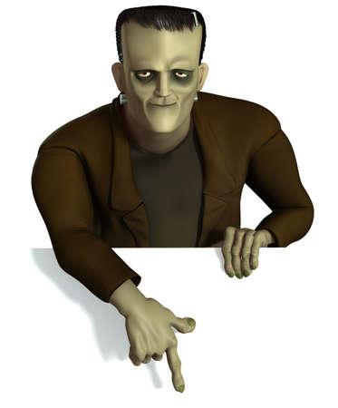 reanimated: halloween Frankenstein
