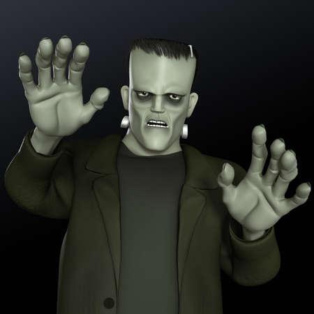 cartoon frankenstein: Frankenstein
