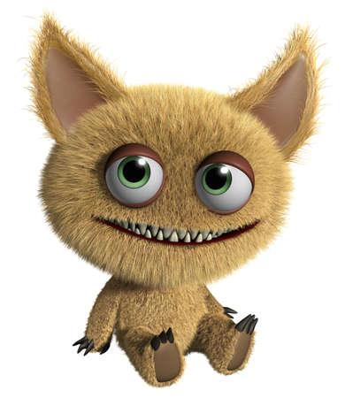 furry: 3d cartoon cute monster