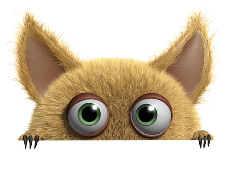 furry: 3d cartoon cute monster