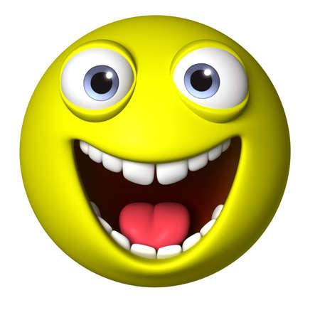 pelota caricatura: Bola de dibujos animados 3D Foto de archivo