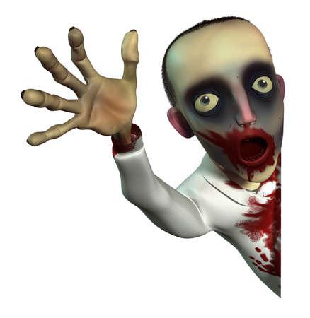 undead: Horror zombie Stock Photo
