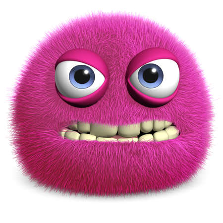 부드러운 털의: 모피 괴물