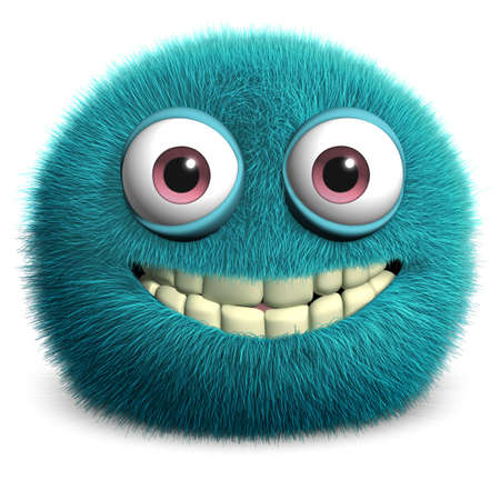 fuzz: furr3d cartoon furry monster