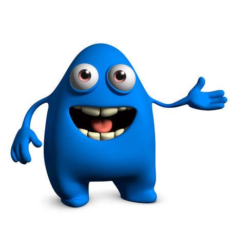 egghead: 3d cartoon cute monster