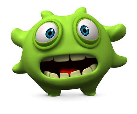 mutant: 3d cartoon bug