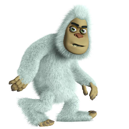 abominable: 3d cartoon bigfoot
