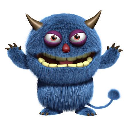 yeti: blue furry freak