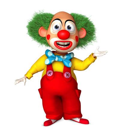 cartoon clown photo