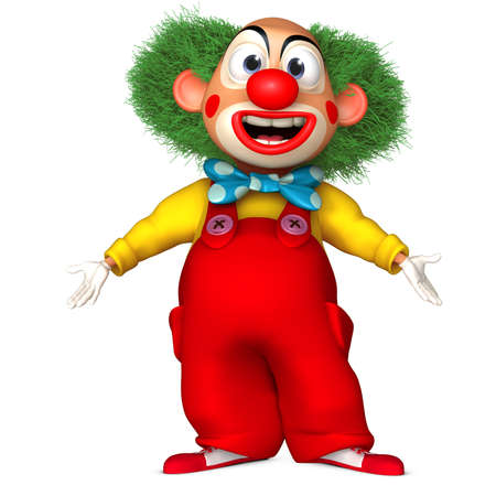 cartoon character: clown