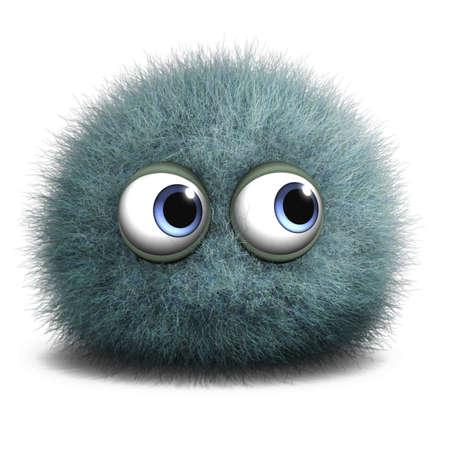 moss: 3d cartoon cute monster