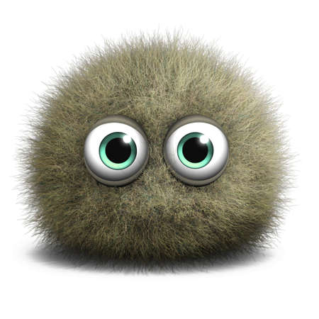 mold: 3d cartoon cute freak Stock Photo