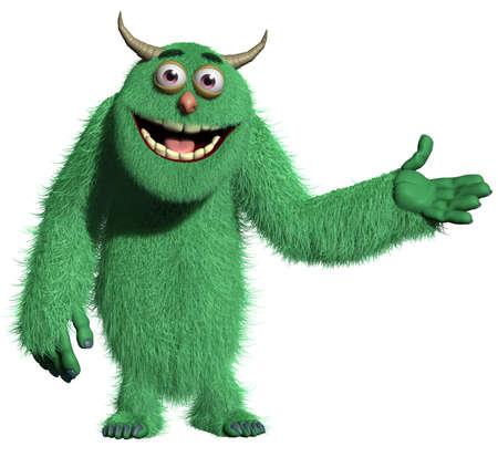 funny monster: monster