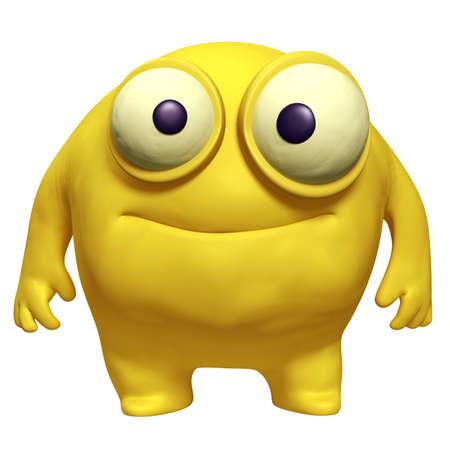 unicellular: cute cartoon mostro