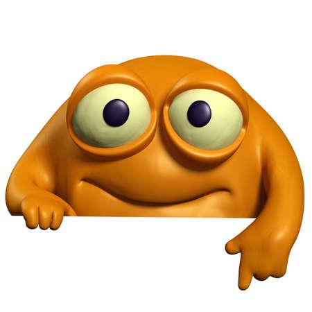 orange cute beast Stock Photo - 15743301